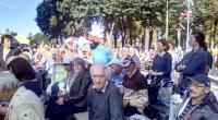 Skupinka pútnikov z nášho zariadenia pre začiatkom sv. omše