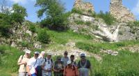 Pohľad na zrúcaninu hradu