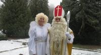 Príchod Mikuláša s anjelom