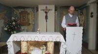 Vdp. Ján Kliment v kaplnke zariadenia